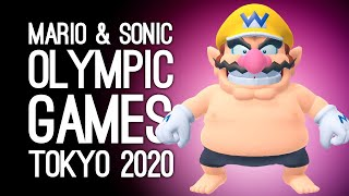 Mario & Sonic at the Olympic Games Tokyo 2020 Gameplay: WARIO NIPPLES CONFIRMED