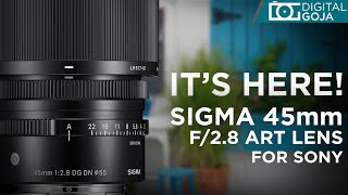 [FIRST LOOK] Sigma 45mm f/2.8 …