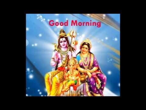 Good Morning Wishes Hindu God Lord Shiva Images For Gud Whatsapp Fb Hindu Gods Good Morning Wishes Youtube