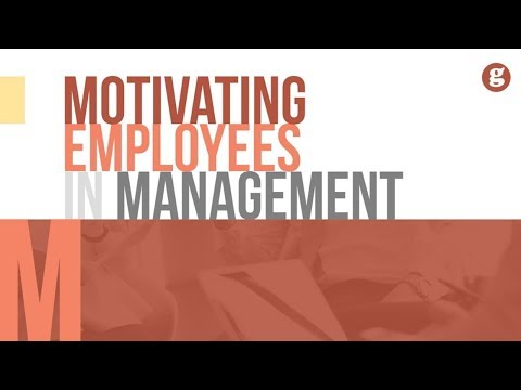 Motivating Employees In Management