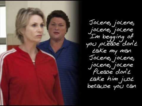 Glee - Jolene (With Lyrics)
