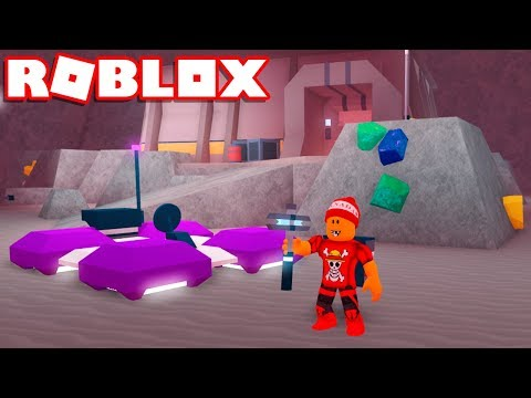 Roblox → A CAVERNA DE CRISTAL (CRYSTAL CAVERN) !! - Roblox Space Mining Tycoon #2 🎮