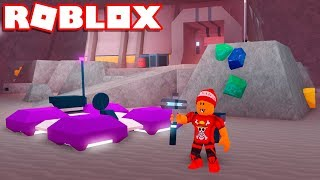 Roblox → A CAVERNA DE CRISTAL (CRYSTAL CAVERN) !! - Roblox Space Mining Tycoon #2 🎮