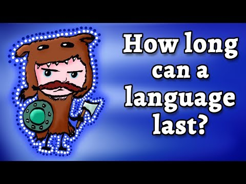 How long can a language last before it