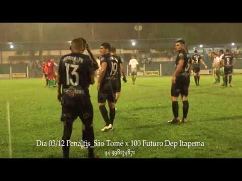 Copa Gaúcha pr 03/12/19_ (Pênaltis) São Tomé X 100 Futuro Dep Itapema