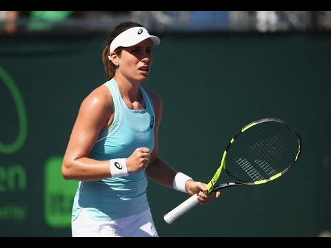 2018 Miami Second Round   Johanna Konta Vs. Kirsten Flipkens