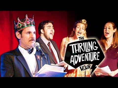 THE THRILLING ADVENTURE HOUR (f. Paul F. Tompkins & more): Behind the Scenes: Episode 1