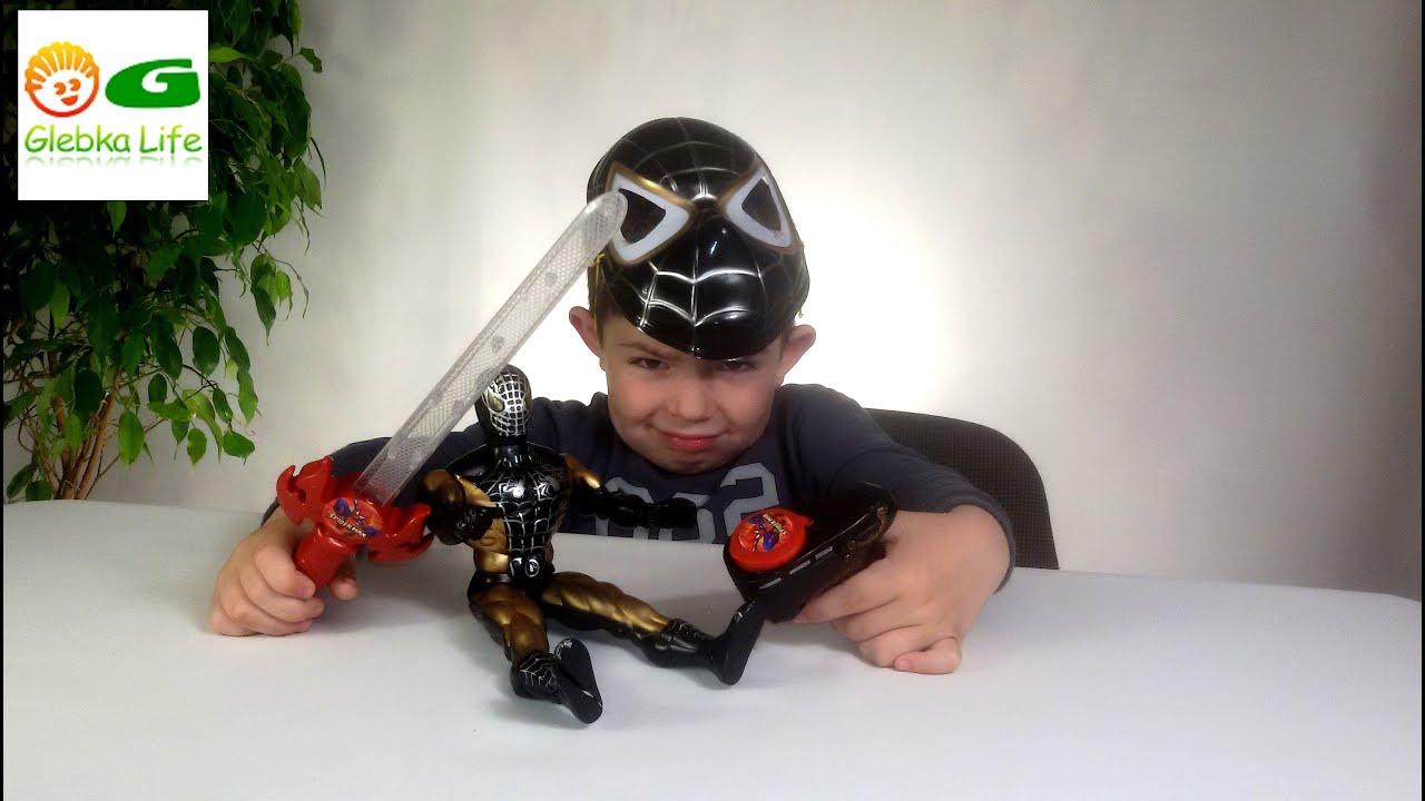 Человек Паук. Открываем игровой набор человека паука.  Spider-Man.