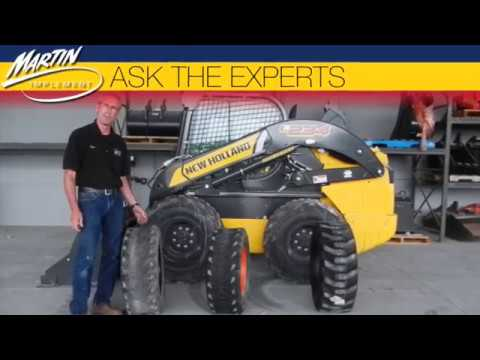 Ask The Experts: How Do I Determine When I Need To Replace My Skid Steer Loader Tires?