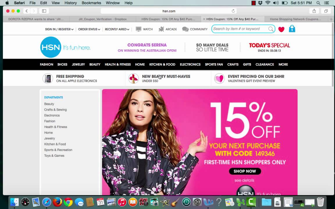 Hsn discount coupon