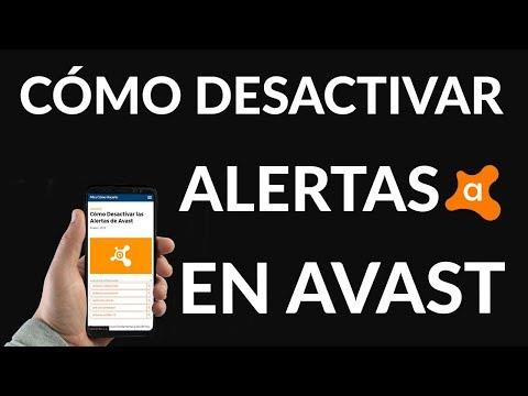 Cómo Desactivar las Alertas de Avast