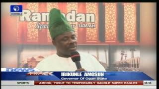 Amosun Promises To Deliver On All Projects To Develop Ogun 05/07/15