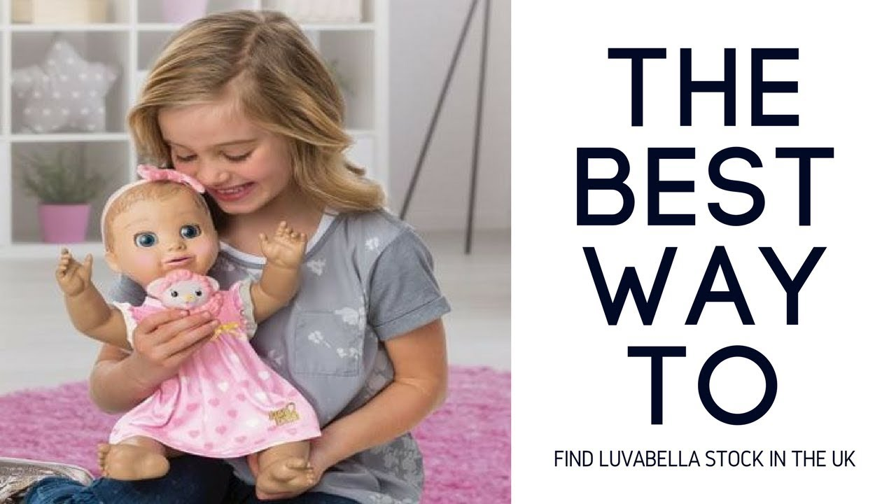Sneaky Way To Find Luvabella Dolls Uk Youtube