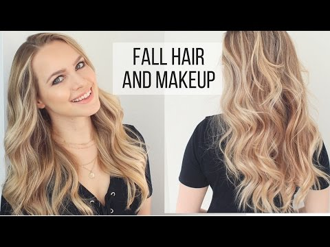 My Fall Hair and Makeup Routine