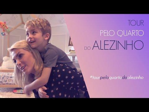 TOUR PELO QUARTO DO ALEZINHO  ANA HICKMANN