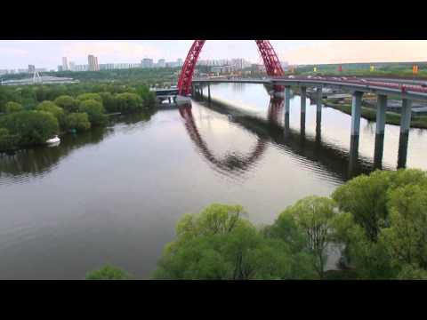 Живописный мост через Москву-реку V2