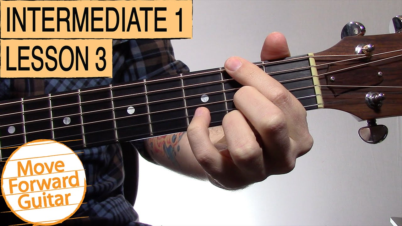 Intermediate Guitar 1 Root Notes Slash Chords Youtube