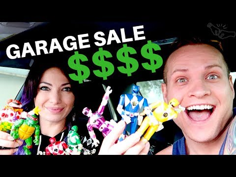 GARAGE SALE MONEY! Apple Ipod & vtg 1990s Toys! Stuff to sell on eBay! | RALLI ROOTS 2018