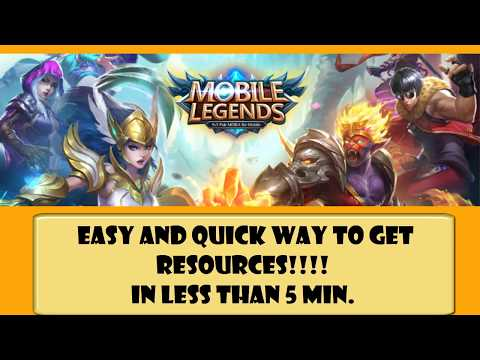 Mobile Legends Hack 2018 - Unlimited Free Diamonds & Coins - Mobile Legends Cheats {Android & iOS}