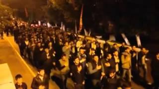 Траурное шествие по случаю месяца Мухаррам в Лянкаране