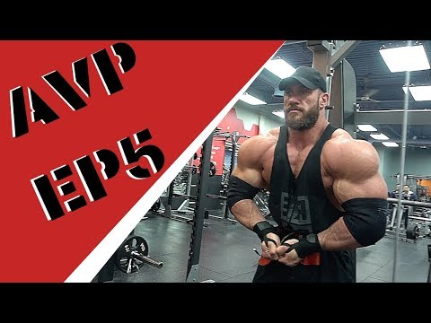 AVP EP5 : 7 5 weeks out some training and posing - YouTube