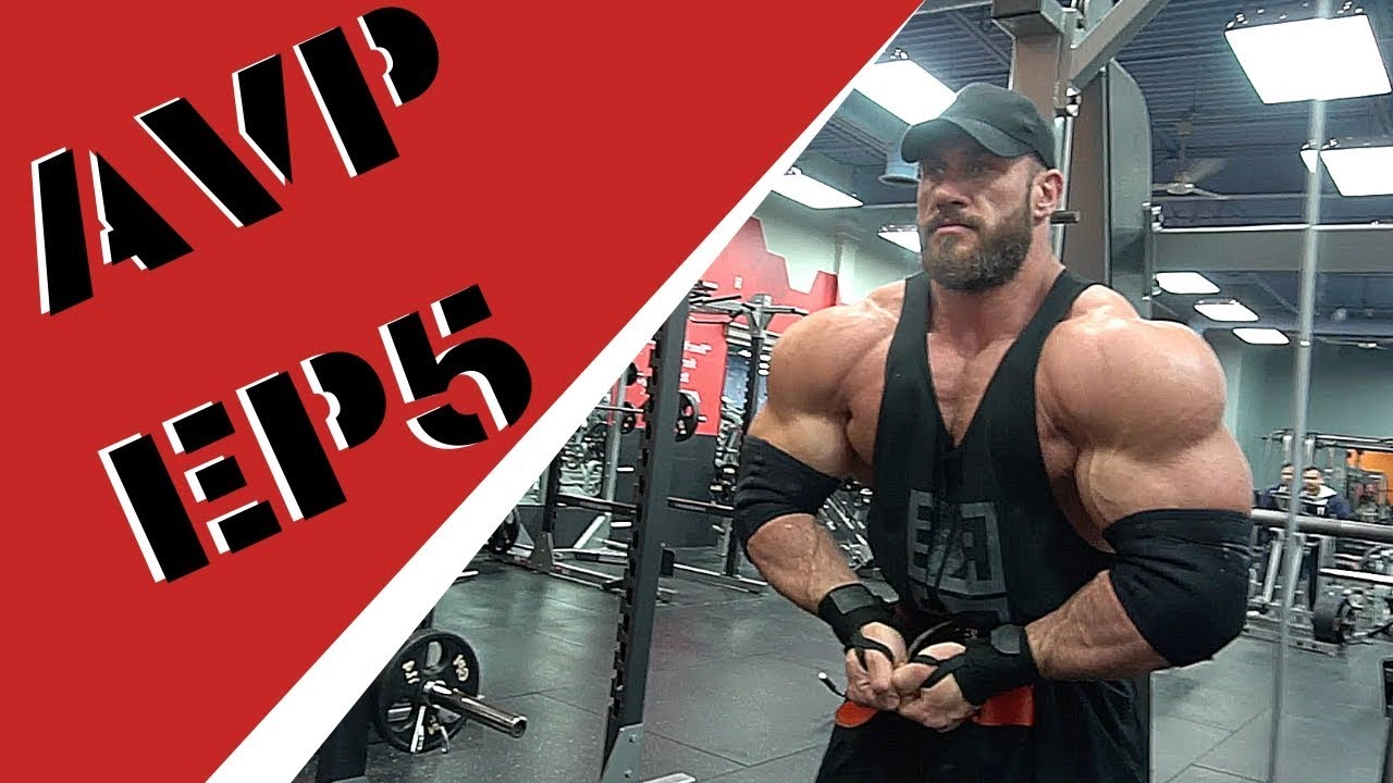 AVP EP5 : 7 5 weeks out some training and posing