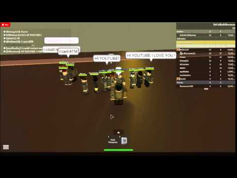 Allied Airborne on roblox training Part 1.