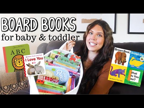 20+ BOARD BOOKS FOR BABY & TODDLER!!! Our Favorite Interactive Board Books for Baby | Faith Drew