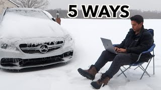 HOW TO MAKE MONEY IN THE SNOW!