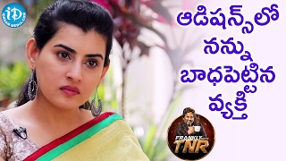 He Troubled Me During Auditions - Archana | Frankly With TNR | Talking Movies With iDream