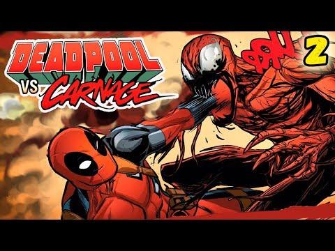 ДЭДПУЛ УБИЛ КАРНАЖА!   вторая часть   Deadpool vs. Carnage #3-4