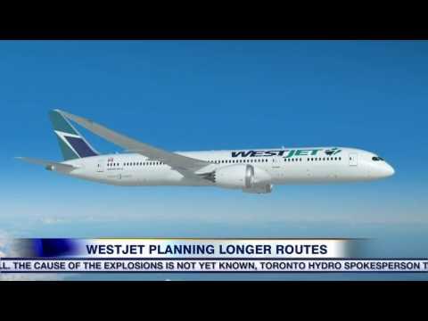 WestJet orders longer-range Boeings as part of wider expansion plans