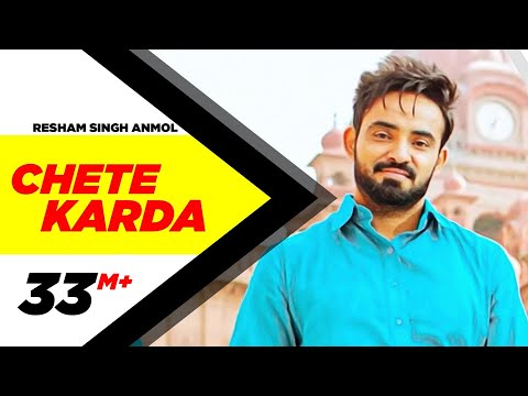Chete Karda (Full Song) | Resham Singh Anmol | Desi Crew | Latest Punjabi Song 2016 | Speed Records