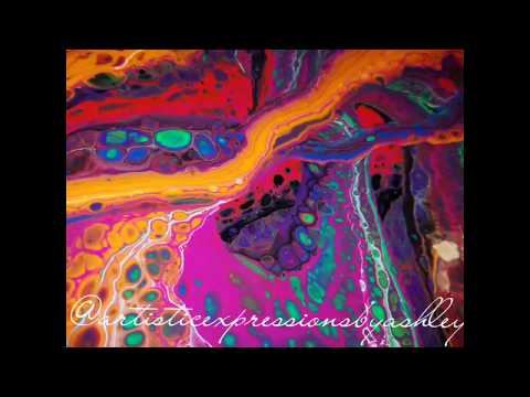 """Fluid Art Addict"" - by Ashley Carter"