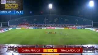 จีน vs ไทย อุ่นเครื่อง CFA Under-21 วันนี้ 15 พ.ย. 61