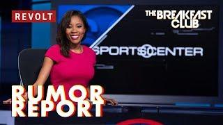 Jamele Hill denies Chris Berman left 'racially disparaging' voicemail | Rumor Report thumbnail