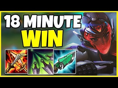RANK 1 AKALI HOW TO WIN IN 18 MINUTES (INSANE CARRY) - League of Legends