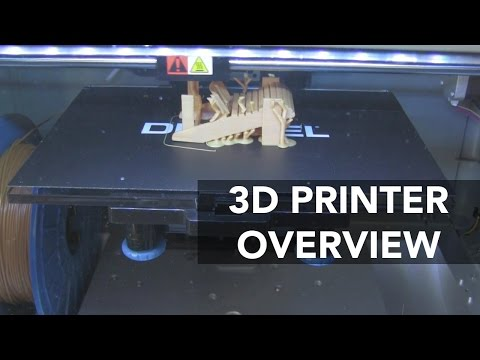 Overview of Dremel's Idea Builder 3D Printer