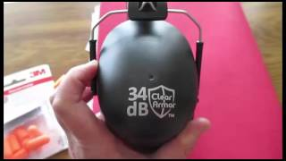 Video Clear Armor Safety Ear Muffs Review 34db Highest NRR Shooters Hearing Protection download MP3, 3GP, MP4, WEBM, AVI, FLV November 2018