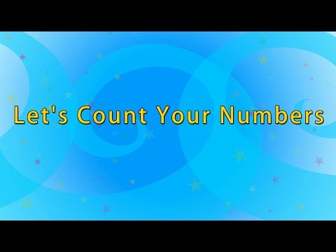 Karaoke: One To Hundred Number Song | Big Number Song | Number Song