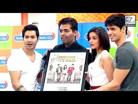 Flashback: This Is How Alia, Varun And Sidharth Were Launched In Student Of The Year | LehrenTV