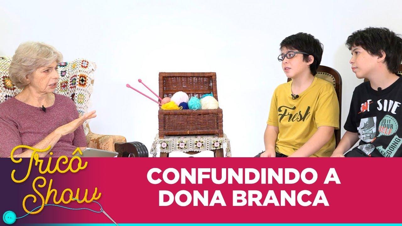 Dona Branca expulsa Gael e Benício de entrevista • EP18 | Tricô Show
