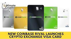 Coinbase Rival Launches Crypto Exchange Visa Card