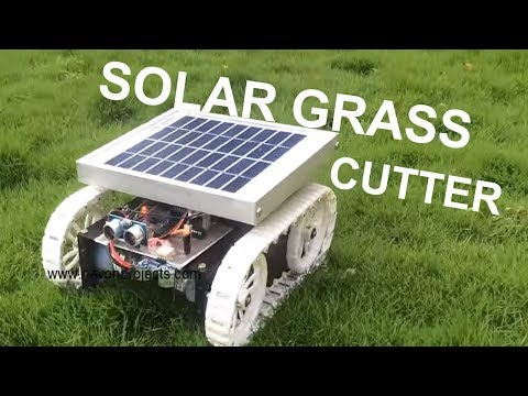 Smart Solar Grass Cutter With Lawn Coverage