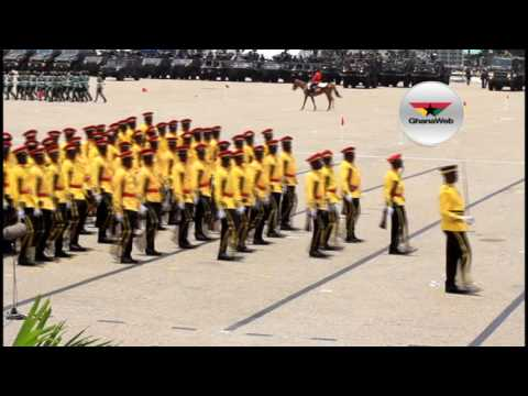 Ghana@60 parade: Troops, Service Personnel show off marching skills