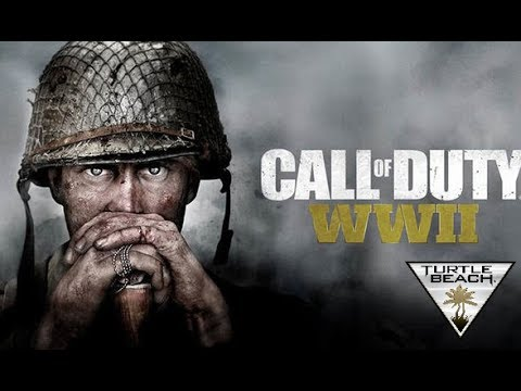 Call OF Duty WW2 -- PS4 -- Turtle Beach Eliet 800