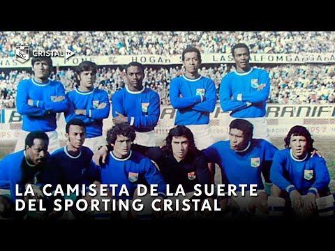 La camiseta de la suerte del Sporting Cristal