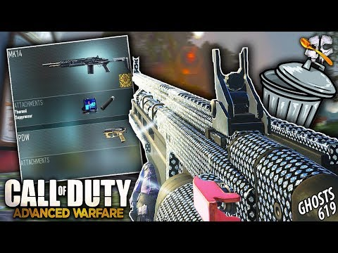 Creating The WORST Class In Advanced Warfare