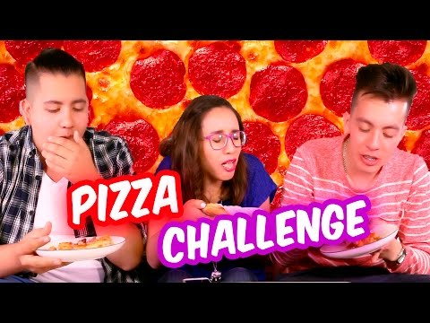 Thumbnail: PIZZA CHALLENGE | SKABECHE VS CRAFTINGEEK | RETO SKABECHE