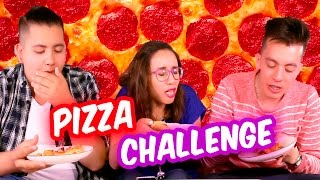 PIZZA CHALLENGE | SKABECHE VS CRAFTINGEEK | RETO SKABECHE